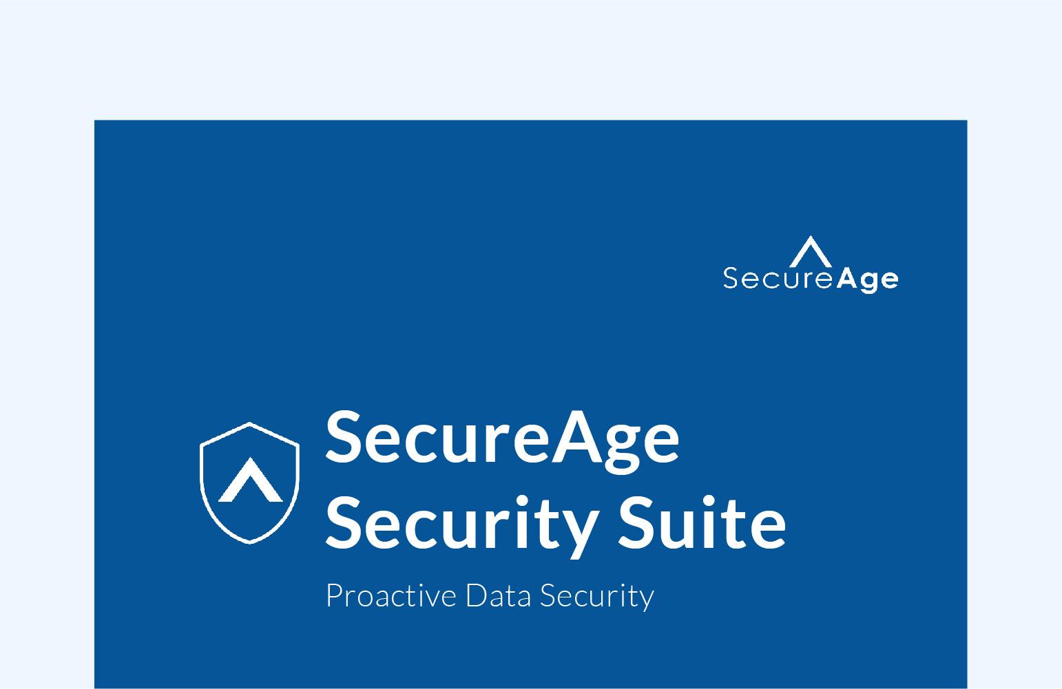 SecureAge Security Suite Brochure