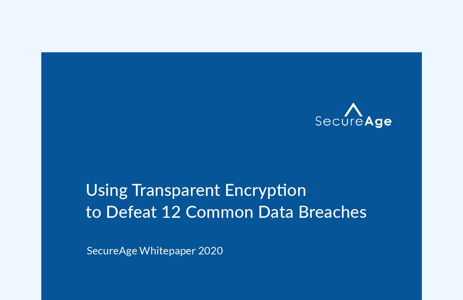 Using Transparent Encryption to Defeat 12 Common Data Breaches